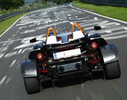 Mit einem KTM X-Bow R ein paar instruierte Runden auf der GP-Strecke selbst fahren!